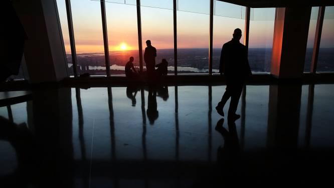 Panoramadek op World Trade Center geopend