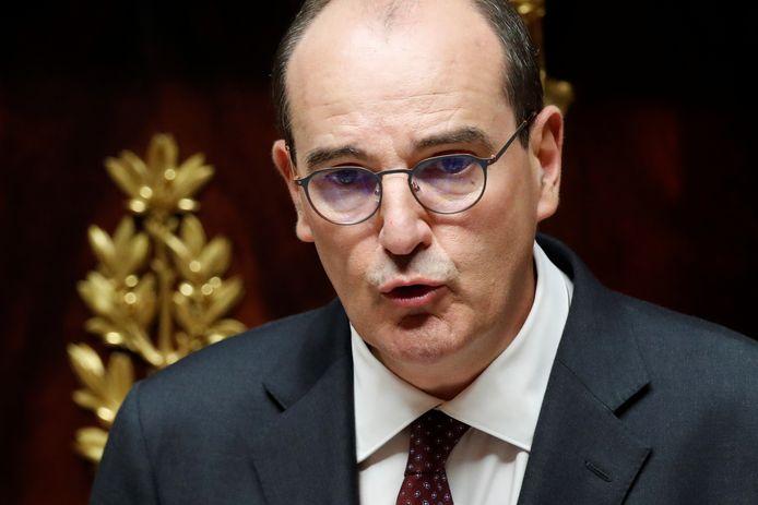 Franse premier Jean Castex.