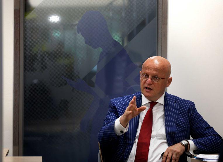 Minister Ferd Grapperhaus (Justitie en Veiligheid).  Beeld ANP