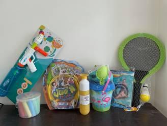 Vijf kinderen winnen speelpakket dankzij buitenspeelchallenge