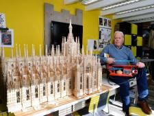 Monsterklus: George uit Etten-Leur bouwt de Dom van Milaan in twee jaar na