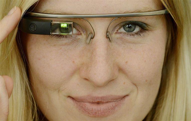 Google Glass. Beeld epa
