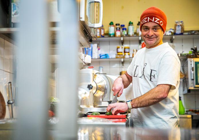 Olav Geurts van Restaurant Gewoon in Numansdorp.