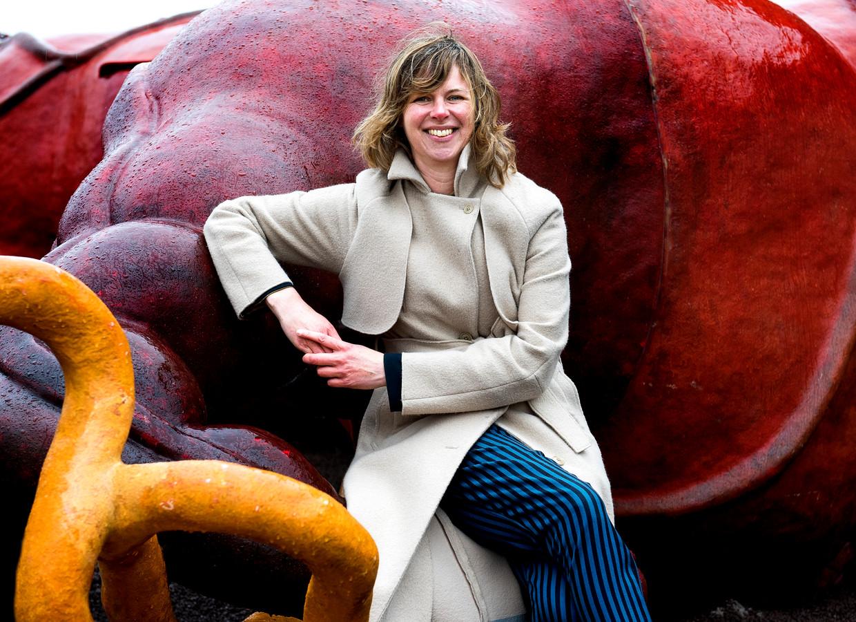 Donica Buisman, directeur van stadslab RAUM en medeorganisator van het kunstevenement Raum der lusten op het Berlijnplein.