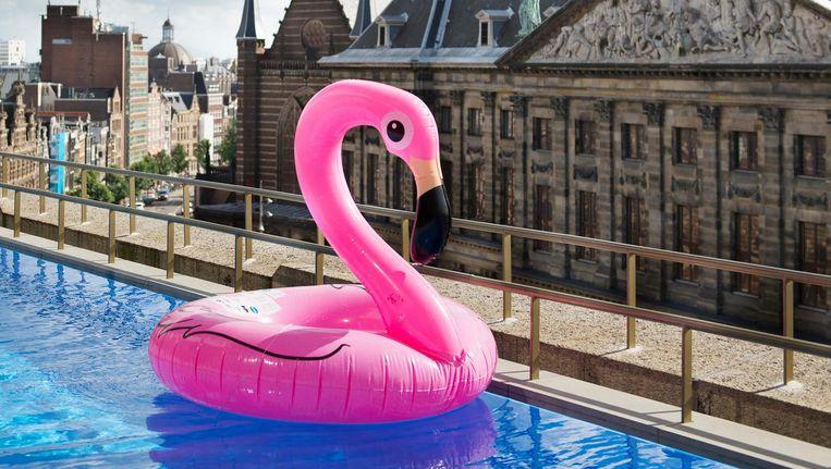 Het W Hotel, in Amsterdam. Beeld Tom Janssen
