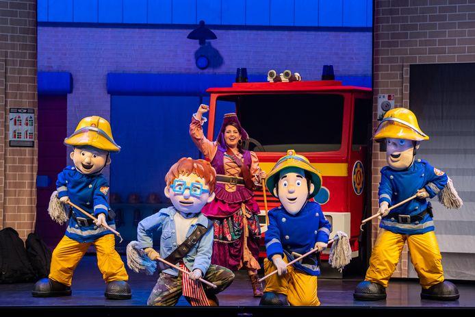 Een van de voorstellingen in het Cultuurcentrum Deurne: Brandweerman Sam