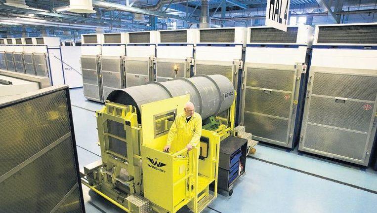 Beeld uit de fabriek van Urenco in Almelo, waar uranium wordt verrijkt. Beeld Rob Huibers