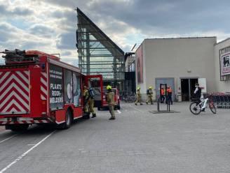 Supermarkt Delhaize even ontruimd na brandalarm
