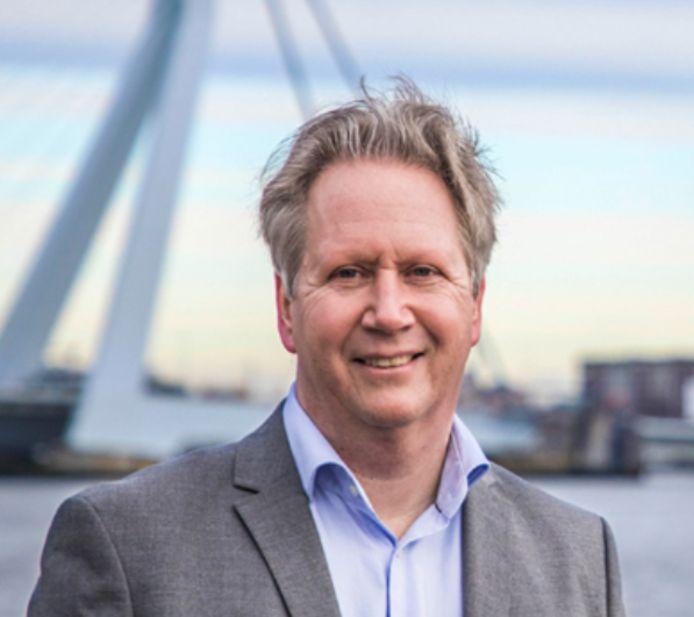 Gemeenteraadslid Hans van Putten van Leefbaar Rotterdam.