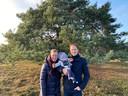Nienke Rietberg en Dennis Tijssen kregen vorig jaar augustus een zoontje: Noud.