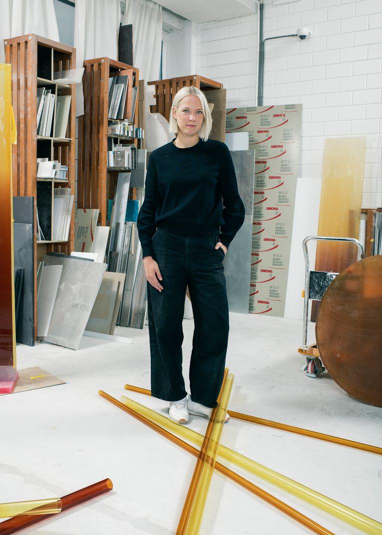 Sabine Marcelis. Beeld Tim Coppens