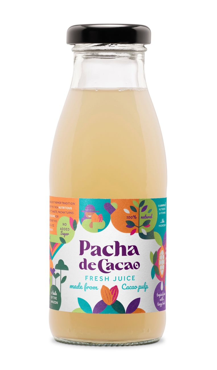 Pacha de Cacao.  Beeld