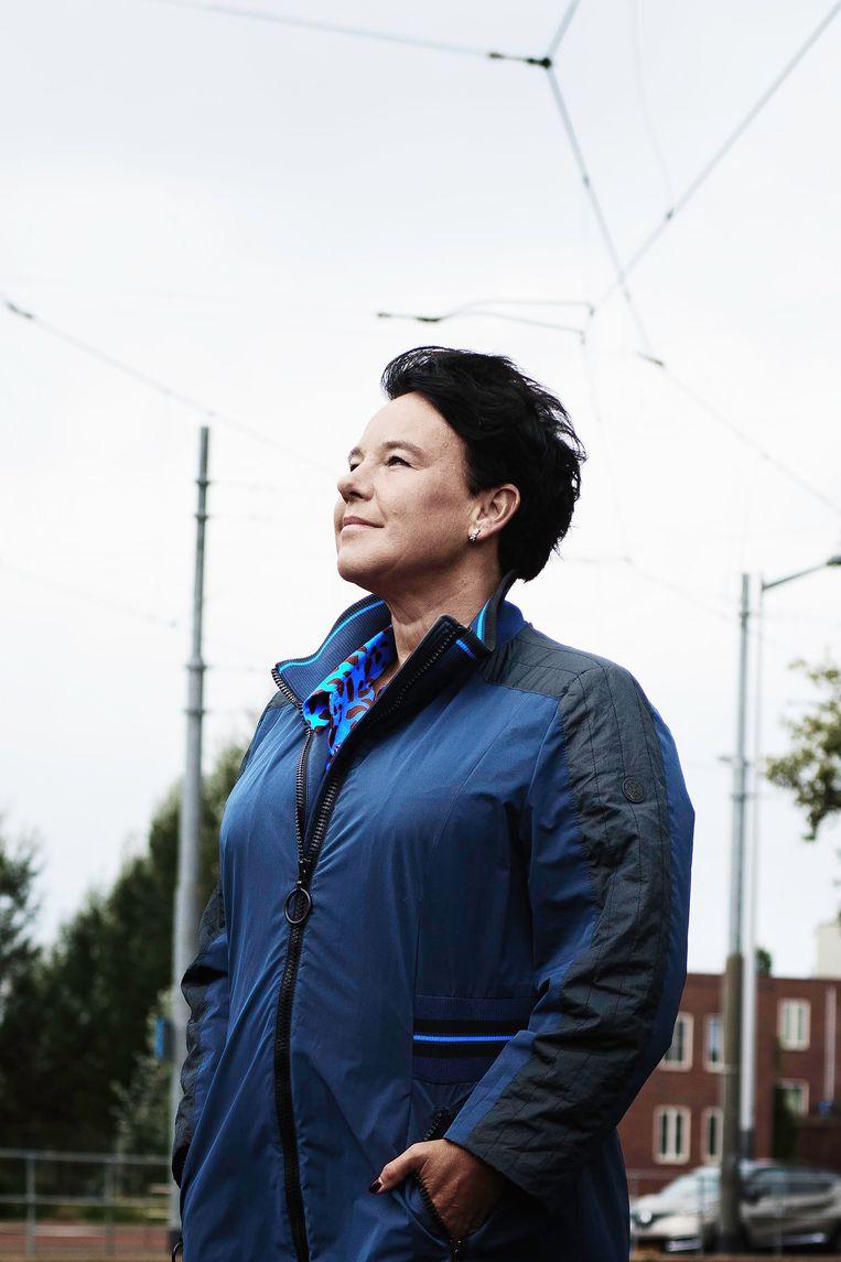 Sharon Dijksma, wethouder verkeer en vervoer: 'Bij een crisis als deze zie je hoe iedereen op de overheid leunt.' Beeld Kiki Groot