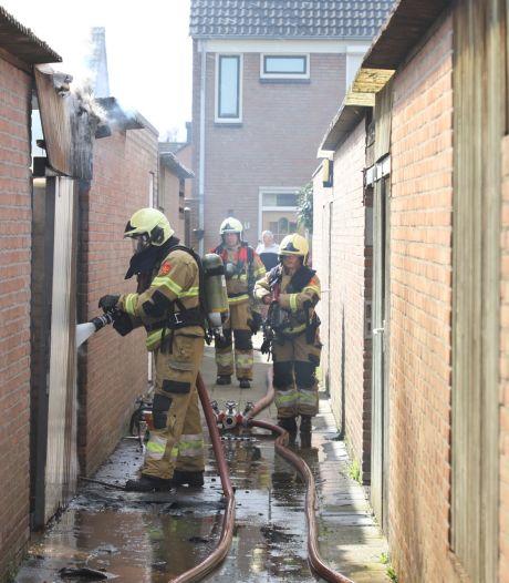 Mogelijk asbest vrijgekomen door schuurbrand in Boxtel