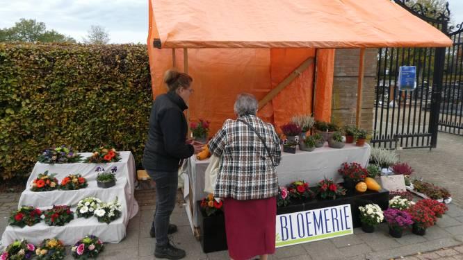 Om de hoek bloemstukje kopen voor dierbaren bij begraafplaats Berlicum