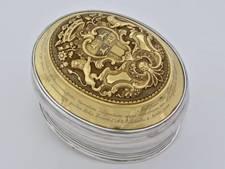 Museum Rotterdam koopt luxe zilveren tabaksdoos