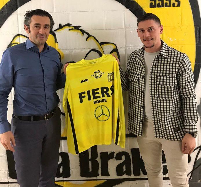 Olsa-CEO Bart Vermeulen kaapte Loic Thissen weg bij SK Ronse. De snelle flankaanvaller tekende meteen voor drie jaar aan de Parkweg.