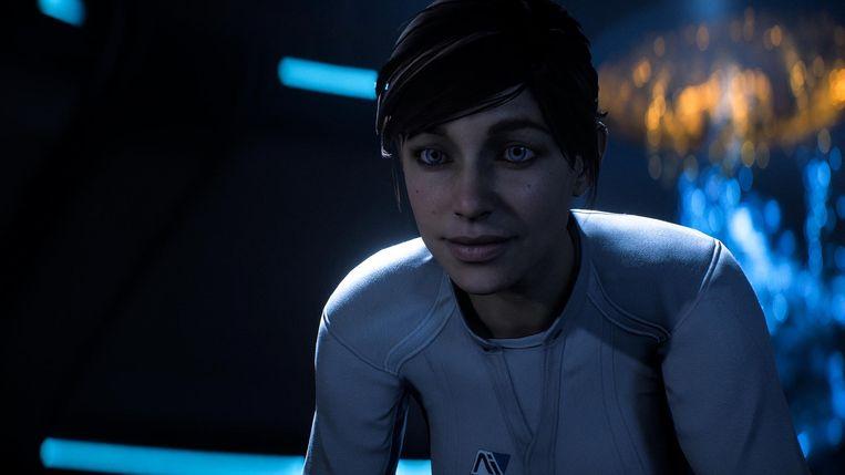 Sarah Ryder, het vrouwelijke hoofdpersonage van 'Mass Effect: Andromeda' Beeld Bioware