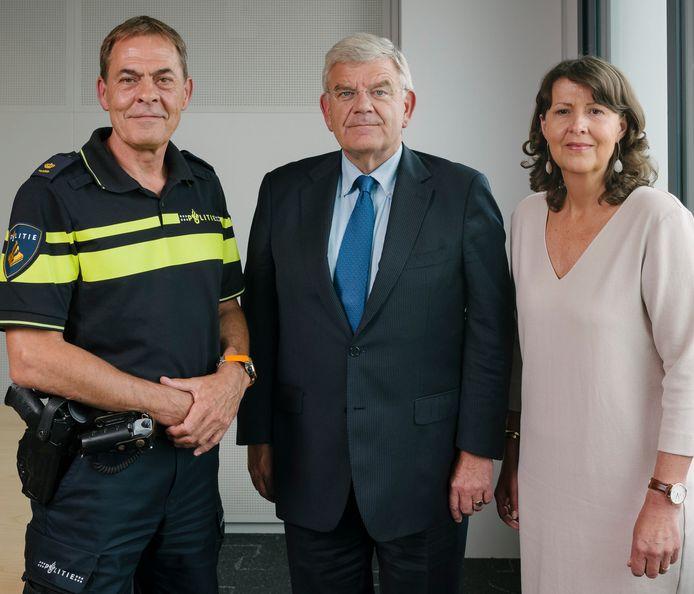 Johan van Renswoude, Jan van Zanen en Jet Hoogendijk