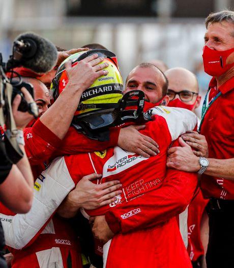 Mick Schumacher sacré en Formule 2 avant d'arriver en F1 en 2021
