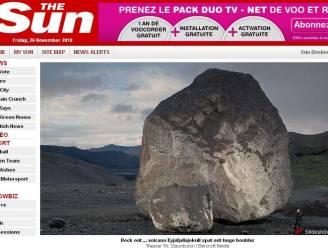 IJslandse vulkaan spuwde megarots van miljoen kilo uit