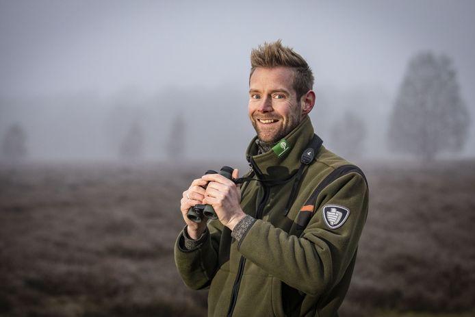 Boswachter Jeroen  Buunen uit Haarle stapt per 22 maart over van Staatsbosbeheer naar Landschap Overijssel.