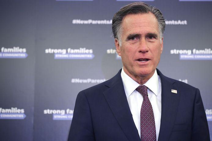 """Senator Mitt Romney: """"Misselijk."""""""