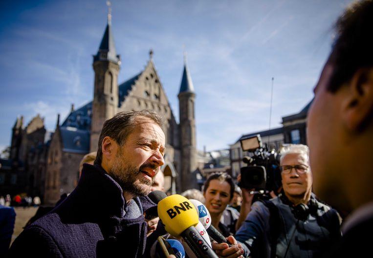 Minister Eric Wiebes (Economische Zaken en Klimaat). Beeld ANP