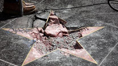 Vernieler Trump-ster in Hollywood moet boete van 10.000 euro betalen