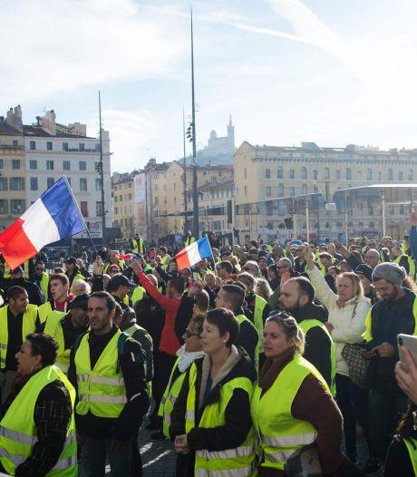 """Des menaces de mort contre les """"gilets jaunes libres"""" en France"""