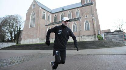 Vincent loopt 150 km voor Warmste Week