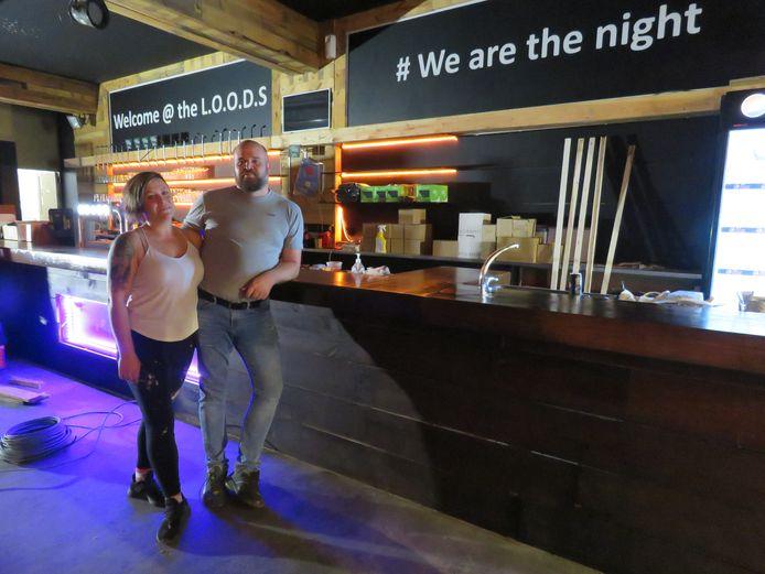 Sean Sabbe en Marie-Ange De Gryse hebben Club Loods grondig gerenoveerd.