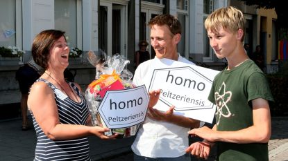 Paul en Jasper kronen zich tot 'Homo Peltzeriensis'
