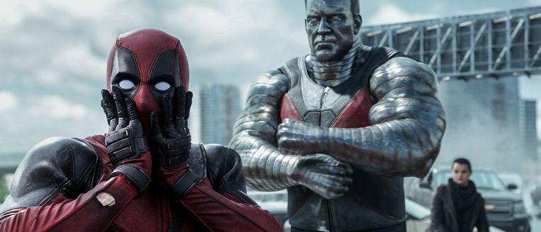 Deadpool en Colossus in een Marvel-film. Beeld