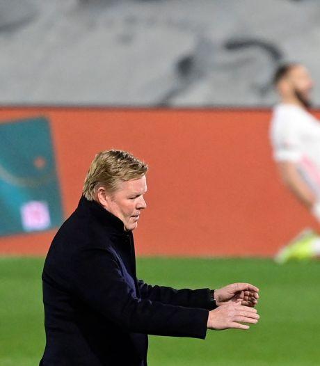 Koeman en De Jong grijpen met Barça naast koppositie na dreun in Clásico