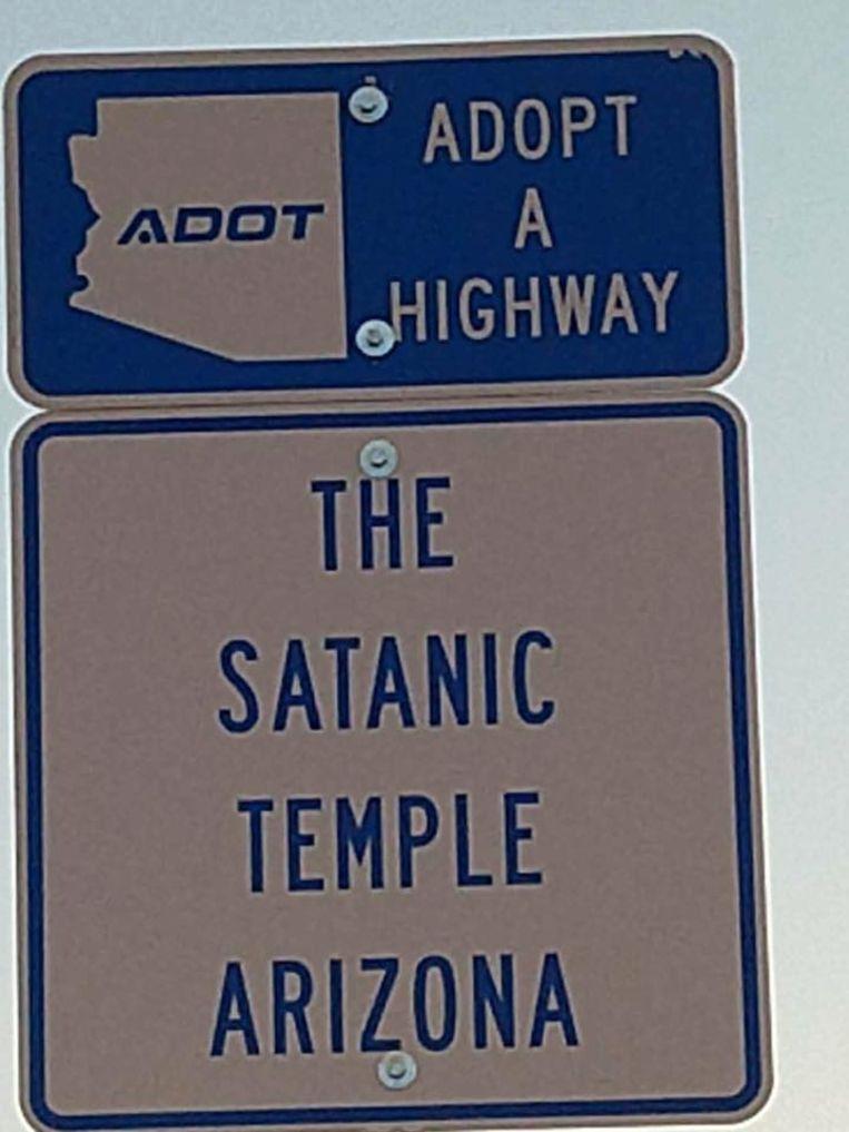 Foto The Satanic Temple of Arizona.