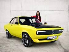 De Opel Manta keert terug, maar is niet te koop