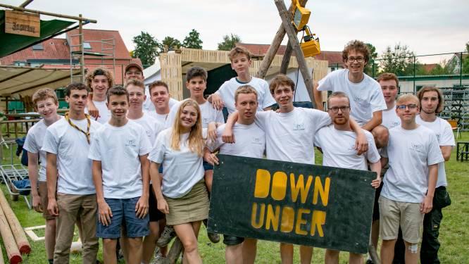 Met 'Down Under' de nacht in: na anderhalf jaar weer feestje bij scouts Sint-Kristoffel