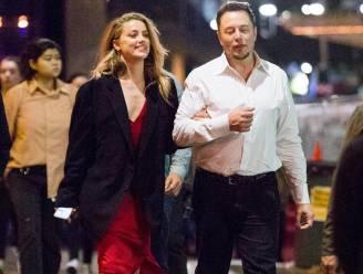 """Actrice Amber Heard en techmiljardair Elon Musk uit elkaar, maar """"we blijven houden van elkaar"""""""