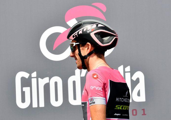 Simon Yates zakte drie jaar geleden zwaar door het ijs in de Giro.