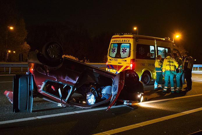 Ongeval A2 Liempde
