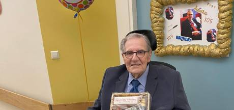 Pieter, de oudste Utrechter, viert zijn 105e verjaardag vooral in zijn uppie en dat vindt hij maar niks