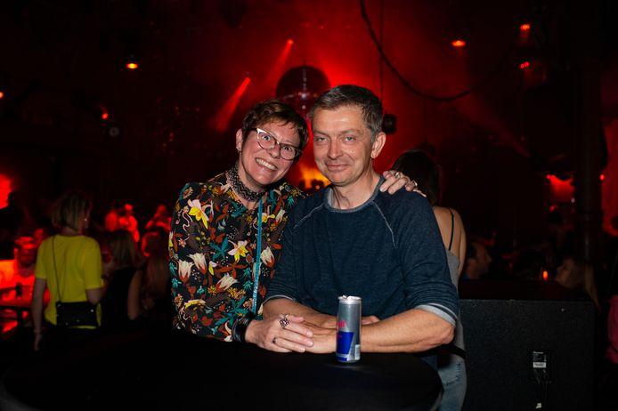 Tania en haar (ondertussen nieuwe man) Peter