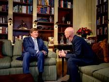 Lovende woorden voor 'ontwapenend interview' met 'openhartige koning'