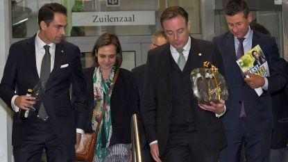 """N-VA en Vlaams Belang praten over onderwijs en sociale zekerheid: """"Niet enkel voor de vorm"""""""