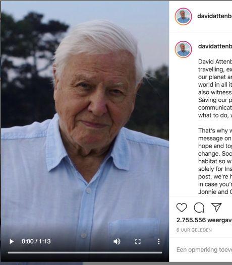 David Attenborough se lance sur Instagram pour sauver la planète et fait un véritable carton