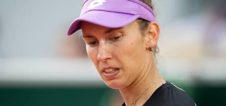 Désillusion pour Elise Mertens, éliminée en double, malgré sept balles de match