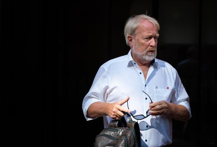 Directeur Jaap van Dissel van het Centrum Infectieziektebestrijding van het RIVM.