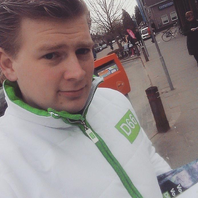 Haarenaar Jan van Ginneken is beoogd lijsttrekker voor D66 in Oisterwijk