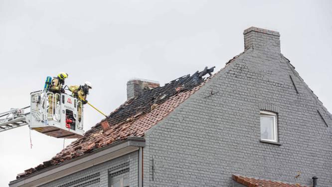 Woning in Pamel onbewoonbaar na hevige brand